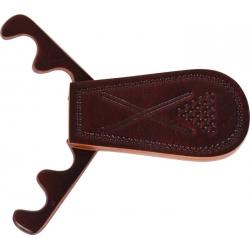 Držák na 4 tága přenosný kožený Buffalo
