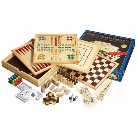 Dřevěný soubor her