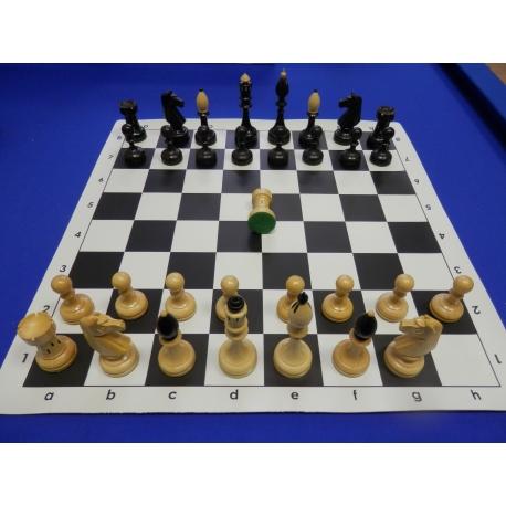 Šachové figury Česká klubovka se závažím
