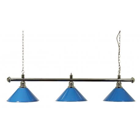 Lampa modrá 3 širmy