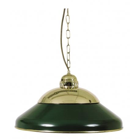 SAMOSTATNÁ LAMPA ZELENÁ MOSAZNÁ 45CM
