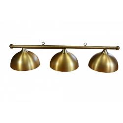 Lampa Retro zlatá 3 stínidla