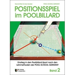 Kniha Positionsspiel im Pool Billard, Alferiu+Sander