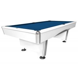 Kulečníkový stůl Triumph pool, matná bílá