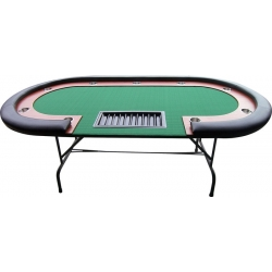 Pokerový stůl High Roller 210x105 cm Black