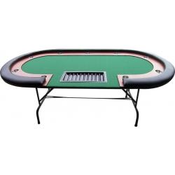 Pokerový stůl High Roller 210x105 cm Black