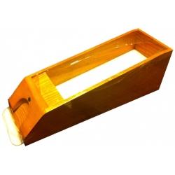 Bota - podavač karet Black-Jack, přírodní dřevo