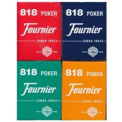 Pokerové karty Fournier 818 oranžové