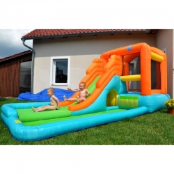 Happy Hop Velká vodní skluzavka s bazénkem