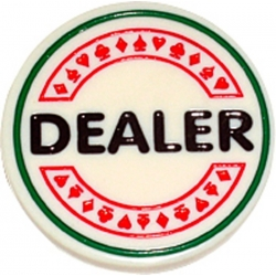 PROFESIONÁLNÍ DEALER BUTTON