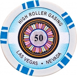 POKEROVÝ ŽETON HIGH-ROLLER 50