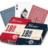 Pokerové karty Fournier 18 RED
