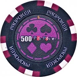 POKEROVÝ ŽETON PRO-POKER CLAY 500