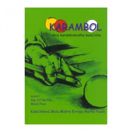 Kniha Karambol  Lekce kulečníku , škola  Marka Fause