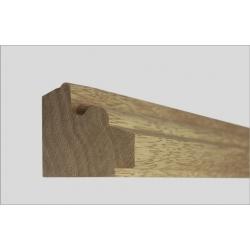 Dřevěné lišty pod mantinely Artemis profil 37