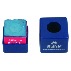 Buffalo billiard chalk holder blue