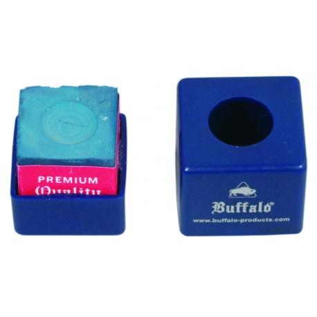 Buffalo billiard chalk holder blue