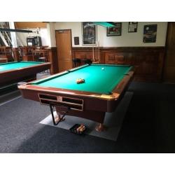 Kulečníkový stůl pool Buffalo Pro II 9ft, hraný