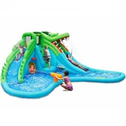 Velký vodní aqua park Krokodýl s velkým bazénem