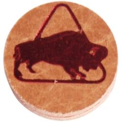 Kůže vrstvená Buffalo Medium 12mm Brown