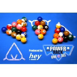 Rozstřelová podložka Power Rack one 4 all (9-Ball / 10-Ball / 8-Ball)
