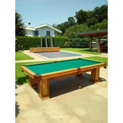 Kulečníkový stůl Pool Outdoor, dub