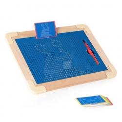 Magnetická kreslící tabulka Magpad de Luxe 713 kuliček
