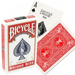 Bicycle Rider Back Bridge Size RED