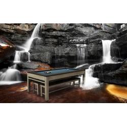 Kulečníkový stůl  Riley Neptune Outdoor Pool Diner 7ft