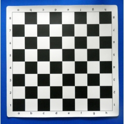 Šachové plátno černobílé