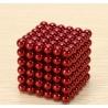Magnetické kuličky Neocube Ø 5mm Puzzle RED