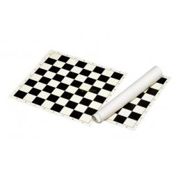 Šachové plátno černobílé, pole 50 mm Philos