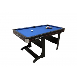 Kulečníkový stůl Riley sklopný 5ft + stolní tenis