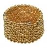 Magnetické kuličky Neocube Ø 5mm Puzzle Gold