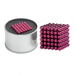 Magnetické kuličky Neocube Ø 5mm Puzzle Pink