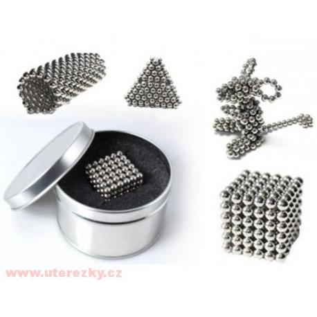Magnetické kuličky Neocube Ø 6mm Puzzle Nikl