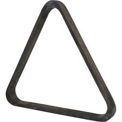 Trojúhelník pool dřevěný šedý 57,2 mm