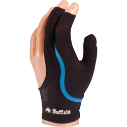 Rukavice Buffalo Reversible Black/Blue Small