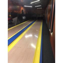 Bowlingová dráha - bazar