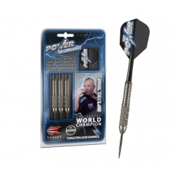Šipky Steel Phil Taylor Power - Silverlight - Tungsten Look