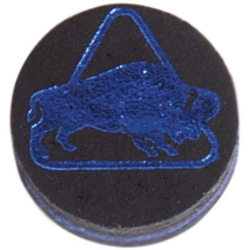 Kůže vrstvená Buffalo Medium 13mm Black