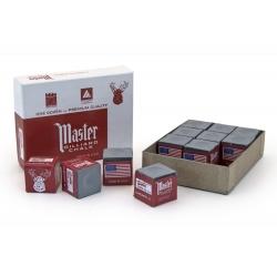 Křída kulečníková Master Grey - šedá