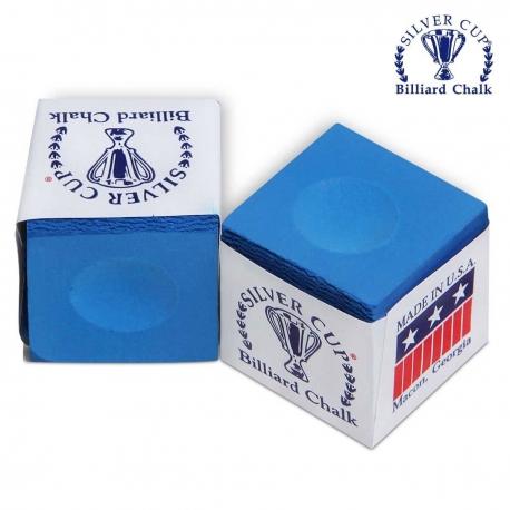 Kulečníková křída Silver Cup Blue modrá