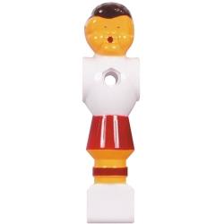 Hráč stolní fotbal Buffalo červeno-bílý Ø 16mm