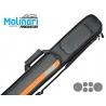 Molinari cue bag 2b/4s black/orange