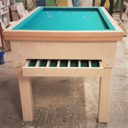 Kulečníkový stůl Bába - Hříbek (Neguš) 137x75 cm