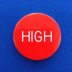 Žeton High / Hi-Low gravírovaný plastový