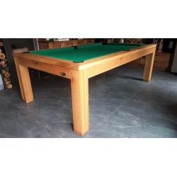 Kulečníkový stůl pool Dub sukatý 8ft - bazar