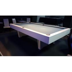 Kulečník pool bílý lamino - bazar