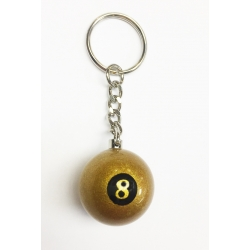 Přívěsek 8 Ball Golden Aramith 25 mm